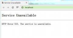 网站经常显示Service Unavailable,刷新几次又好了